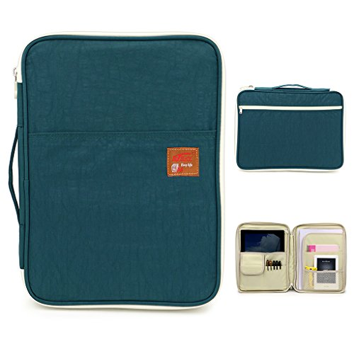 BTSKY Multi functional Portfolio Organizer Waterproof Notebooks