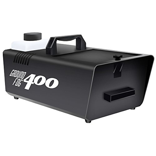 400 Watt Ground Fogger - Low Lying Fog - Great for Halloween Decorations or to fill a Dance Floor.