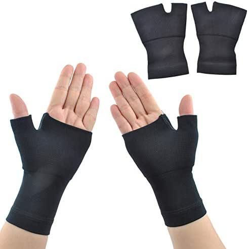 Wrist Brace Carpal Tunnel Support - ACODQR Hand Brace Arthritis Gloves Wrist Pain and Fatigue Relieve Compression Gloves for Men Women