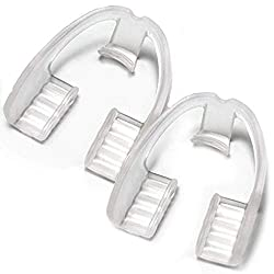 Anti Teeth-Grinding Dental Guard-Ready to use-No Boiling or Molding, Slim, Sleek and Comfortable Works for Upper and Lower Jaw, relieves pain and corrects TMJ and Bruxism