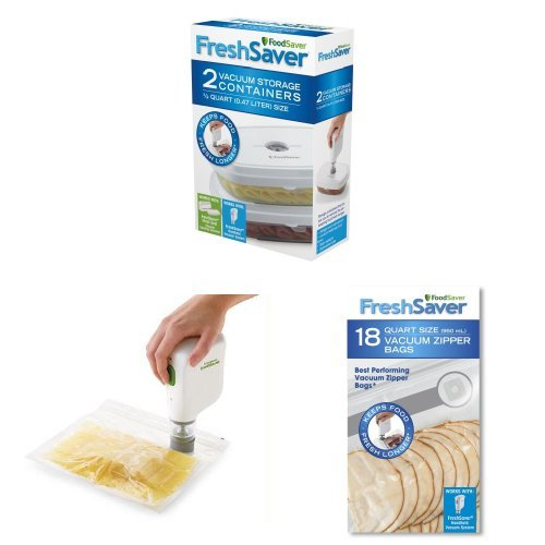 Price comparison product image FoodSaver, Bags and Containers Bundle