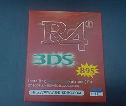 R_4i B9S pre-flasheado NTRboot soporta Luma3DS en 3DS / 2DS