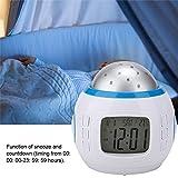ASHATA Music Projector Alarm Clock, Kids Music