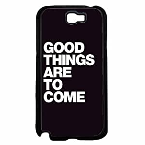 Good Things Are To Come - Hard PC SILICONE Phone Case Back Diy For Iphone 4/4s Case Cover