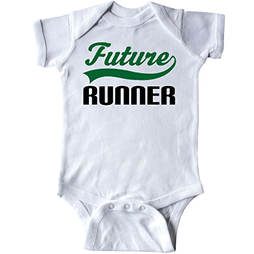 inktastic - Future Runner Infant Creeper 6 Months White 14f0a