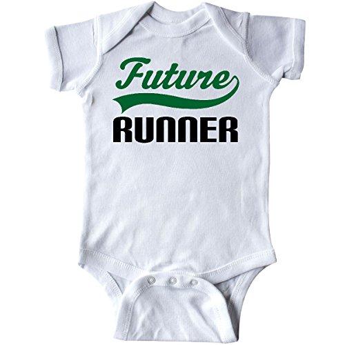 Inktastic - Future Runner Infant Creeper 6 Months White