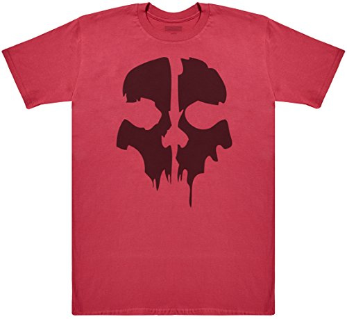 Bane Mask Men's Novelty T-Shirt, Mens Gift, Gift for Him, Mens Top - Red, -