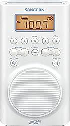 Sangean H205 Amfm Weather Alert Waterproof Shower Radio
