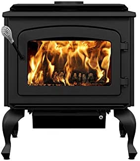 Drolet Escape 1800 Wood Stove on Legs Large 2020 EPA Certified Wood Stove 2,100 sq.ft 75,000 BTU Model# DB03105