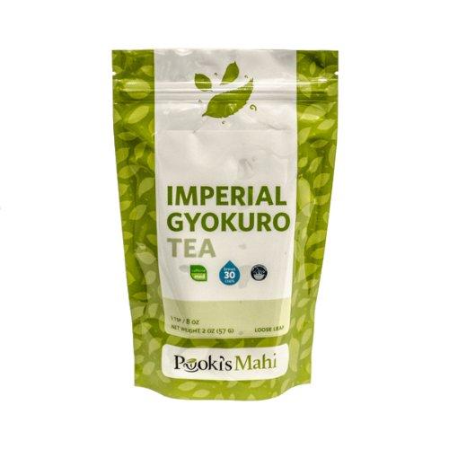 Pooki's Mahi Imperial Gyokuro Tea, 2 Ounce
