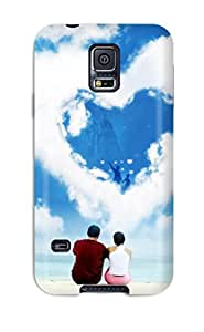 3999258K88825941 Snap-on Case Designed For Galaxy S5- Love