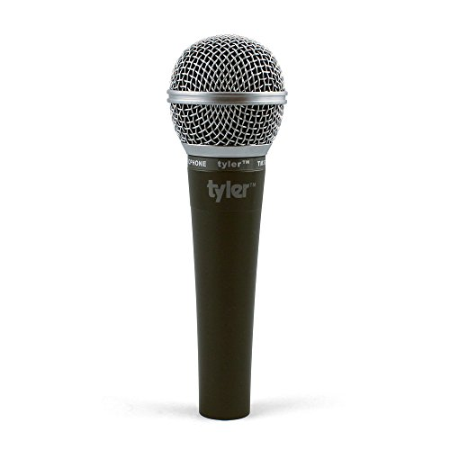 Tyler TM303-SL Professional Moving Coil Dynamic Handheld Microphone - Silver