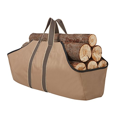 RORAIMA Firewood Log Carrier Signature Log Totes Heavy Duty Canvas (logs not included) size 36