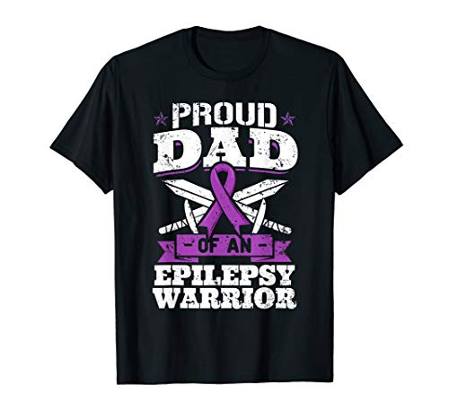 Epilepsy Warrior Shirt Dad Epilepsy Awareness Month Gift
