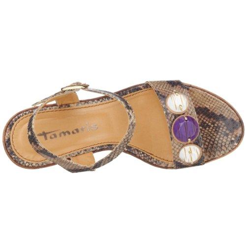 1 Marron 28386 24 Sandales 1 mode femme Tamaris 47qd11
