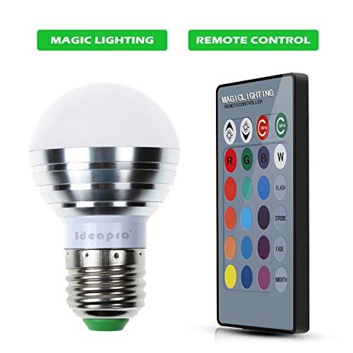 Magic Led Light Bulb With 16 Colors