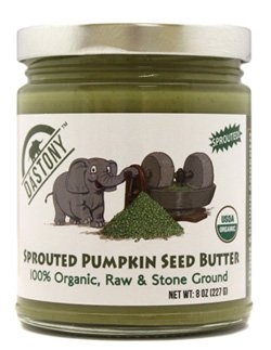 Dastony Sprouted Pumpkin Seed Butter 8 oz Jar