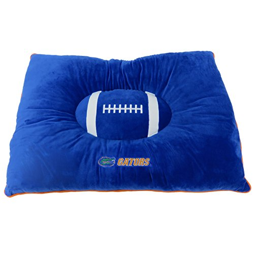 (Pets First Collegiate Pet Accessories, Dog Bed, Florida Gators, 30 x 20 x 4 inches)