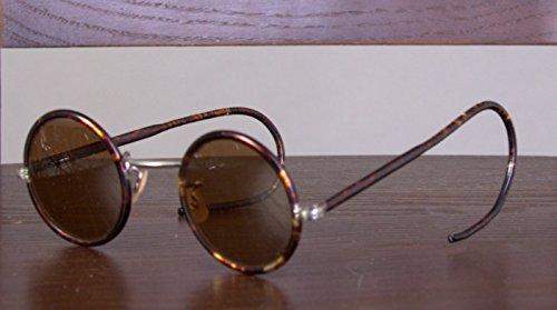 St Patrick;s Day SALE! !! John Lennon glasses rare vintage sunglasses for sale Teashades 1930s New Vintage sunglasses WW2 USSR Bakelite Round - Sunglasses 1930s