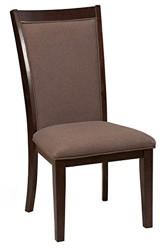 Alpine Furniture Side Chair in Dark Espresso Finish - Set of 2