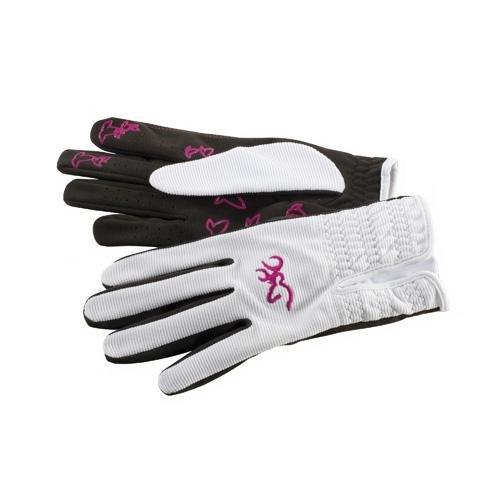 Browning Women's Trapper Creek Gloves, White, Medium