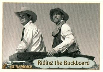 - Festus and Newly trading card Gunsmoke TV show 1993 Pacific #65 Ken Curtis Buck Taylor