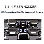 D YEDEMC SM&MM Automatic Fiber Optical Fusion Splicer Integrate Visual Fault Locator and Optical Power Meter (Ai-9) & Fiber Cleaver Kit (Green_Box_Ai-9)