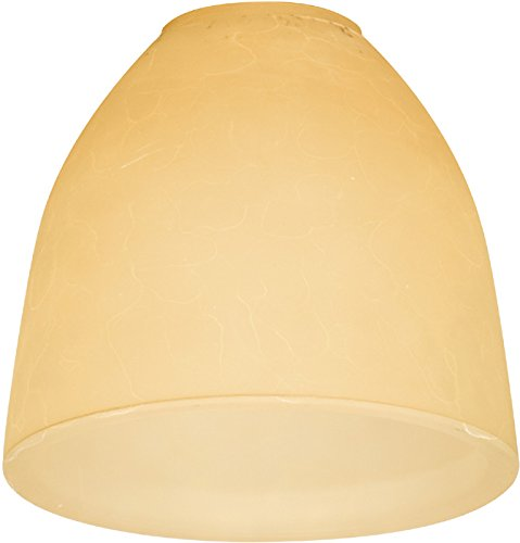 Craftmade 109 Cone Shaped Fan Glass Shade with 2 1/4