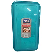 Lock & Lock Egg Container Holds 18, Teal Lid