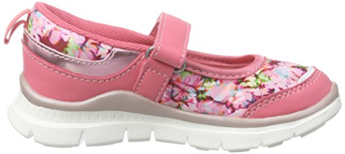 s.Oliver Mädchen 32612 Mary Jane Halbschuhe Pink (CORAL COMB 595)