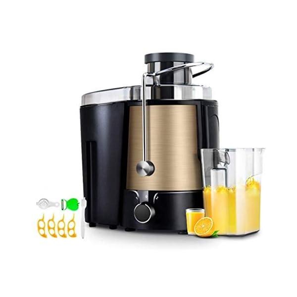 SLRMKK Macchina spremiagrumi, spremiagrumi centrifuga spremiagrumi Multifunzionale per Uso Domestico, spremiagrumi in… 1 spesavip