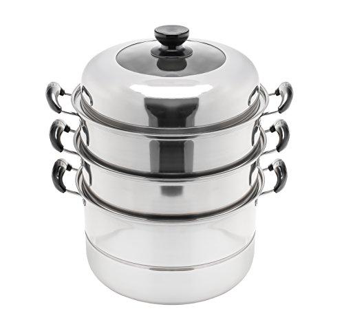 stainless steel 2 tier steamer - 1