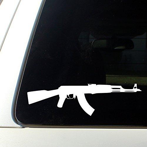 AK-47 Assault Rifle - Car Vinyl Decal sicker - Buy Online in