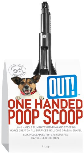 OUT! One-Handed Dog Poop Scoop, My Pet Supplies