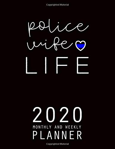 Amazon.com: Police Wife: 2020 Planner Monthly Weekly ...