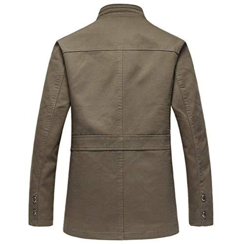 Trekking Modo Lunghe Cappotto Ntel Casual Epoca Giacche Abbigliamento Maschile All'aperto Tuta A Armee Supporto Collare Maniche Sportiva Della Giacca xzaYqvAwBY
