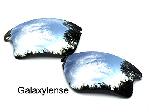 Galaxy Replacement Lenses for Oakley Fast Jacket XL Titanium Color - Sunglasses Fast