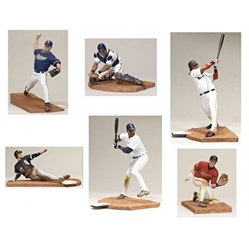 Image of McFarlane Toys MLB Sport Picks MLB Multiple Players, Team Colors, One Size
