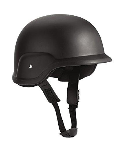 GI Style Helmet (S/M, Black) (Swat Gear Halloween)