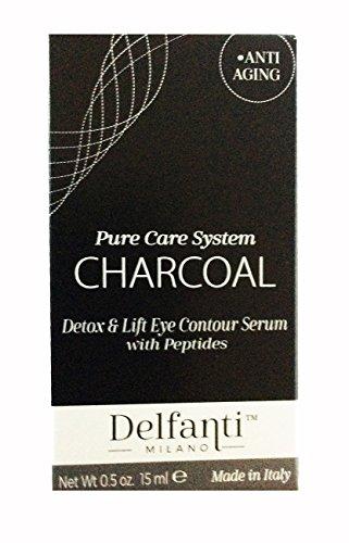 Delfanti Milano Charcoal Eye Contour Serum, 0.5 oz, Made in Italy by Delfanti-Milano (Image #1)