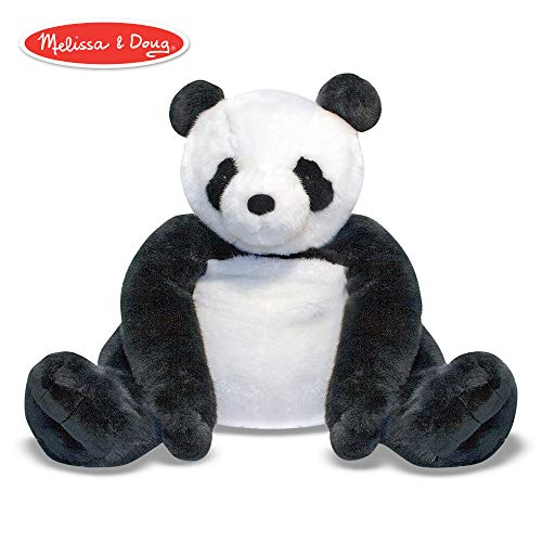 Melissa & Doug Giant Panda Bear - Lifelike Stuffed Animal (over 2 feet tall)