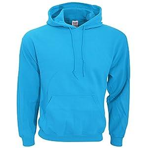 Gildan Heavy Blend Adult Unisex Hooded Sweatshirt/Hoodie (M) (Sapphire)