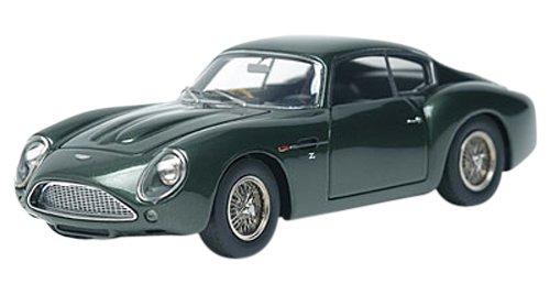 ASTON MARTIN DB4GT Zagato 1960 (Metallic Grün  schwarz Interior) (Resin model)