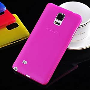 LHY High Quality Ultrathin PC Case for Samsung Galaxy Note 4 (Assorted Colors) , Rose