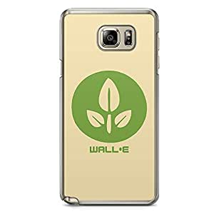 Loud Universe Wall E Flower Samsung Note 5 Case Wall E Green Planet Samsung Note 5 Cover with Transparent Edges