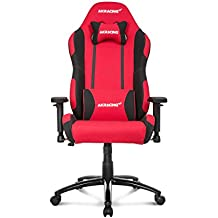 AKRacing Prime Series Premium Gaming Chair with High Backrest, Recliner, Swivel, Tilt, Rocker and Seat Height Adjustment Mechanisms with 5/10 warranty Red