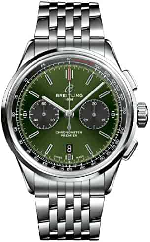 Breitling Bentley Premier B01 Chronograph Green Dial 42mm AB0118A11L1A1