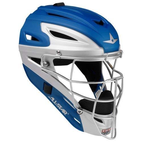 All-Star Mvp2500 Two Tone Matte Catchers Helmet ()