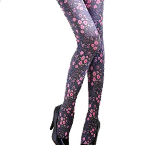 Floral Flower Tights - 4