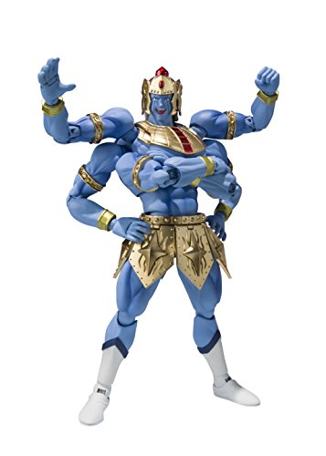 Tamashii Nations Bandai S.H.Figuarts Ashuraman Original Color Edition Kinnikuman Action Figure